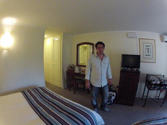 Hotel Neruda: quarto