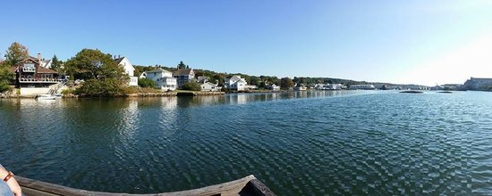 Harborage Inn on the Oceanfront: View from the dock! Gorgeous!