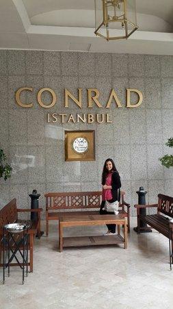 Conrad Istanbul Bosphorus: my daughter RENAD N conrad Istanbul