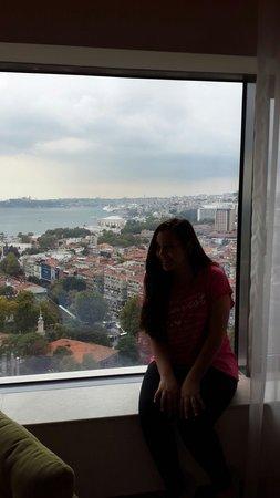 Conrad Istanbul Bosphorus: amazing view 4 my room