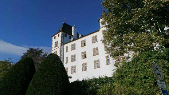 Victor's Gourmet Restaurant Schloss Berg: Schlossrückseite