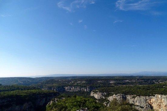 Fort de Buoux (Citadelle du Luberon) : View from the top !