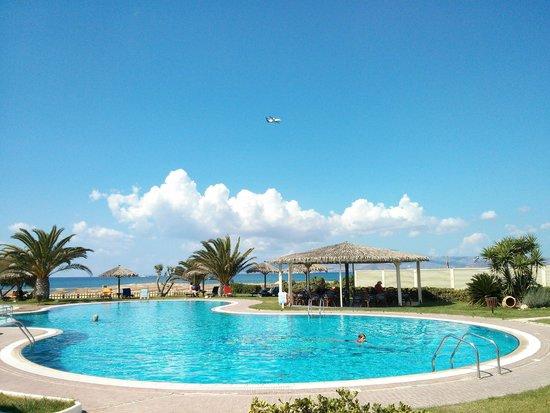 بلازا بيتش هوتل: Zona piscine
