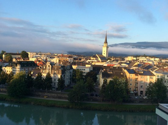 Holiday Inn Villach: View of Villach during morning