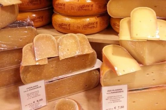 Holandia: Cheese: a delicious Dutch delicacy!