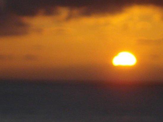 OCÉANO Hotel Health Spa: Sonnenuntergang