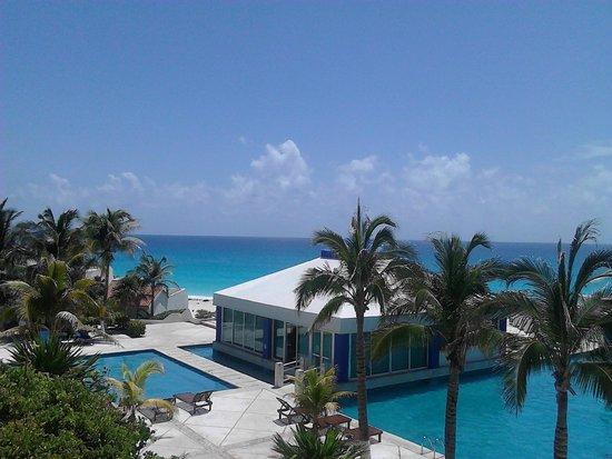 Solymar Cancun Beach Resort: Maravillosa vista al mar