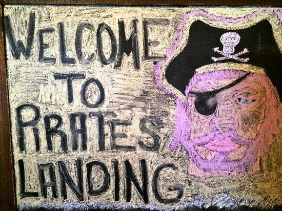 Pirate's Landing Seafood & Steak Restaurant: Welcome
