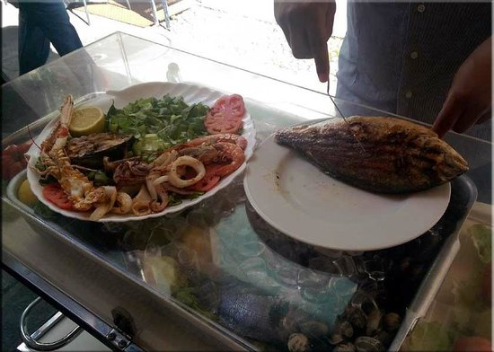 Ivano: Mixed grill of seafood
