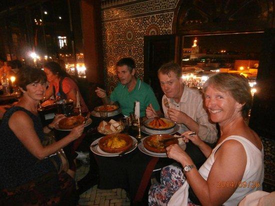Le Marrakchi: enjoying