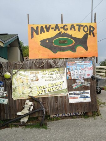 Nav-A-Gator Grill: You're here!
