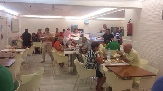 Hotel el Palmeral: Dining hall