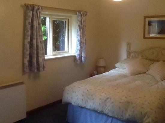 Old Hay Barn Apartments: main bedroom