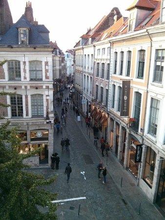Ibis Lille Centre Grand Place: Upmarket shops in rue Lepelletier