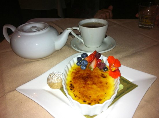 Perfecte Keuken Creme Brulee : Creme brule – Foto van The Windjammer Bed and Breakfast, Port Stanley