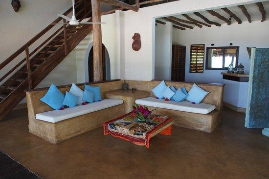Green and Blue Ocean Lodge: Loggia der Honeymoon-Suite