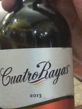 Bodega Taberna Rafae : €11 most expensive white wine here