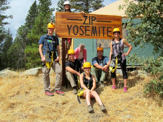 Zip Yosemite: Group shot