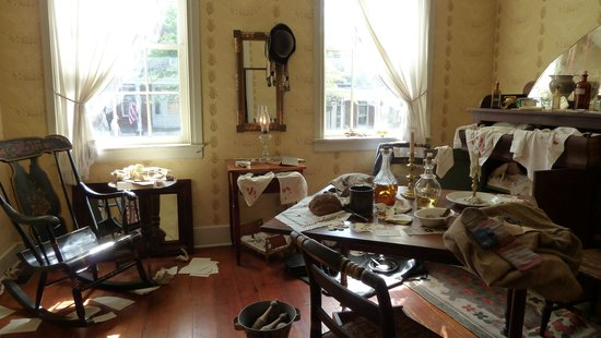 Shriver House Museum: The Shrivers' home was occupied by Confederates during the battle.