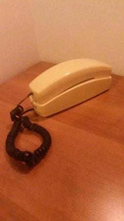 Hotel Lungomare: telefono datato