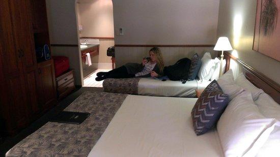 Brisbane International - Virginia : Spacious rooms