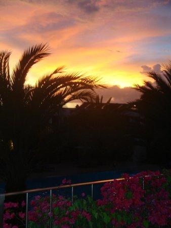 Hotel Dunas de Sal: sonnenuntergang