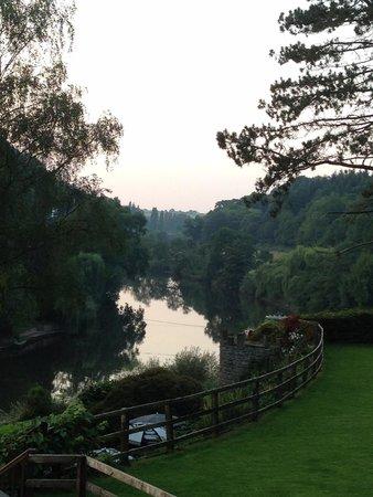 The Royal Lodge: Dusk along the river
