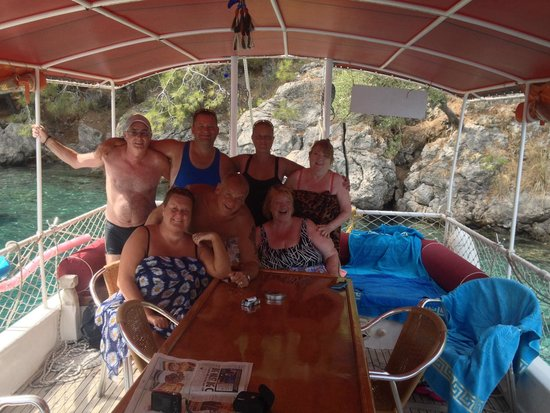 Bahar: Brill day on the boat trip
