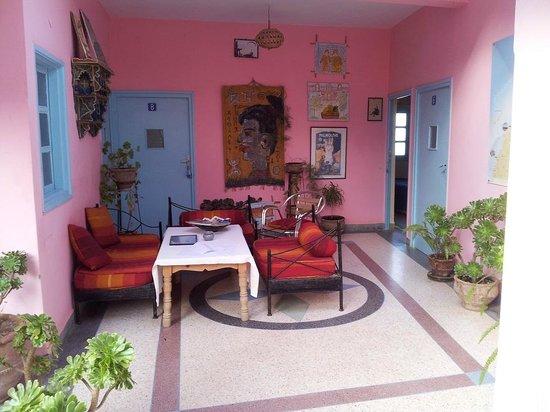 Abertih Hotel Restaurant : Dining area upstairs (Communal)