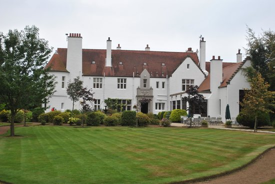Lochgreen House Hotel : From the front