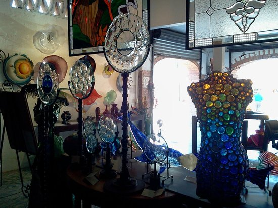 Splash of Glass: Some of the Eye Candy in the shop.