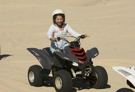 Kids Quad Biking At Tangalooma Picture Of Tangalooma Island