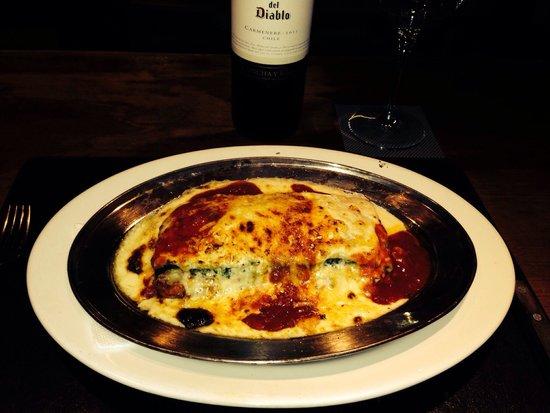 La Cantina del Puertito: Lasagna Rellena