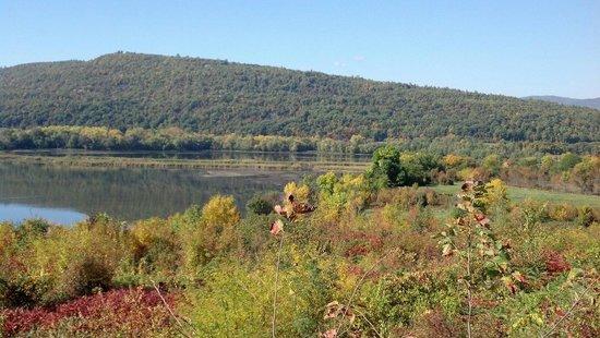 Fort Ticonderoga : Fall view of Mt Defiance.