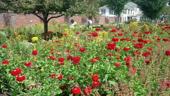 Colonial Revival King's Garden at Fort Ticonderoga