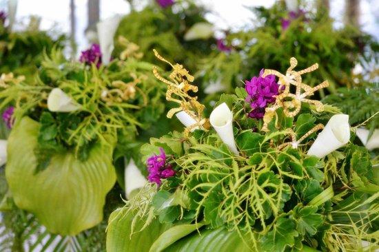 Scenic Matavai Resort Niue: Wedding flowers