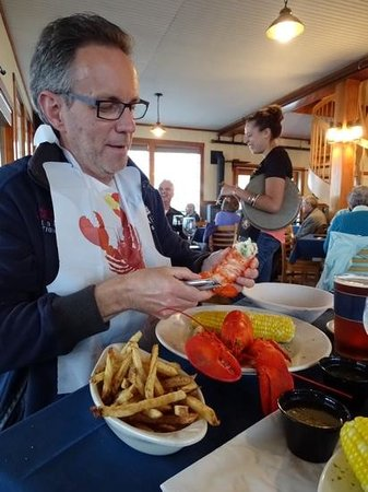 Archer's on the Pier : heerlijke maine lobster!