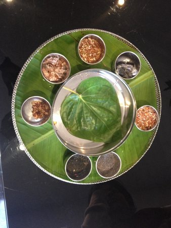 Cafe Masala: Pan thali