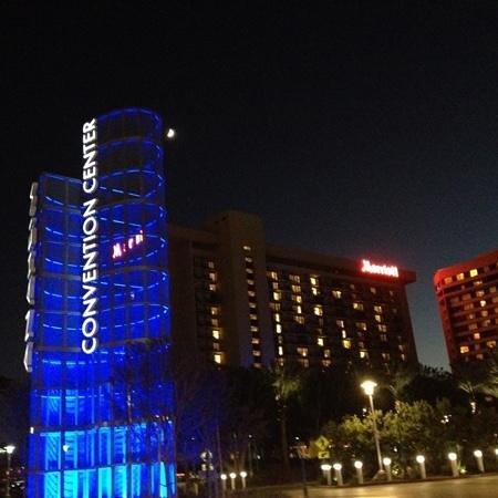 Anaheim Marriott: night view