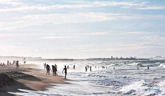 Casa Prainha Pousada: A view of the beach at dawn
