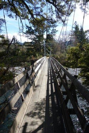 Tongariro River - footbridge