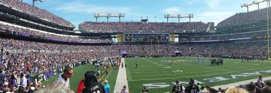 M&T Bank Stadium : Game Day!