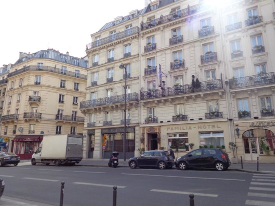 Fachada picture of hotel quartier latin paris tripadvisor for Hotel design quartier latin
