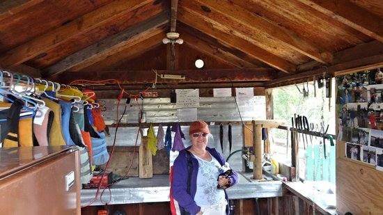 Nimpo Lake Resort: Nimpko Lake Resort, Fish Cleaning Station