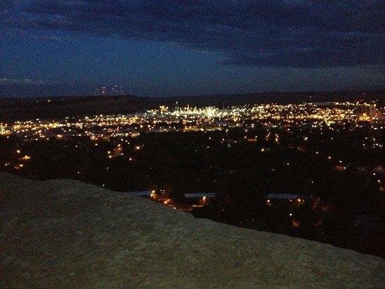 The Rimrocks: Sunset at the rims sept. 28 2014