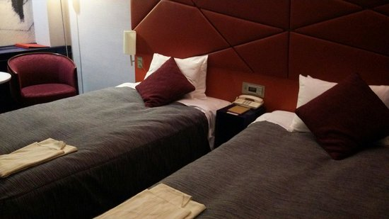 Shiba Park Hotel : ツインルーム