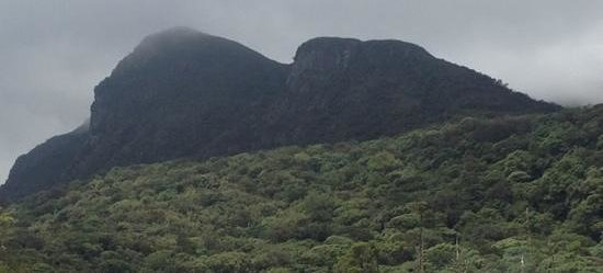 Hanuman mountain.....see the flying pose ! - Picture of ...