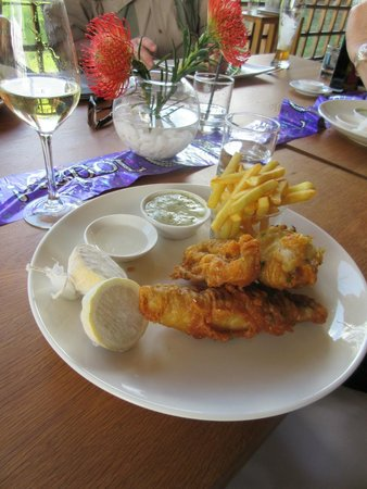 Buitenverwachting Restaurant : A first class Fish and chips