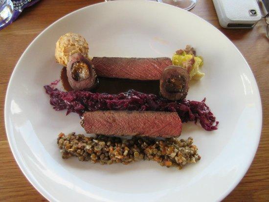 Buitenverwachting Restaurant : My lunch - Venison