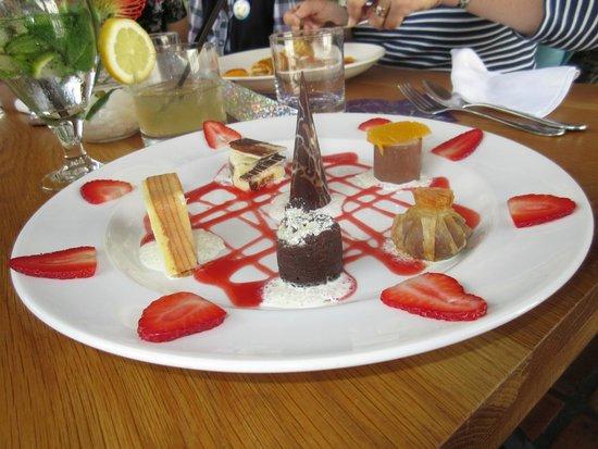 Buitenverwachting Restaurant : One of the desserts - It was just YUM